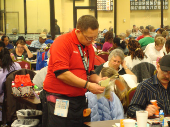 SouthWind Casino's bingo hall celebrated its 28th anniversary