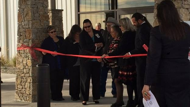 Grand Opening ribbon cutting December 8, 2015.