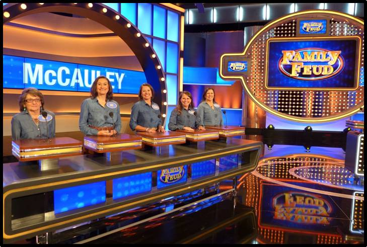 Kaw Family on Family Feud!