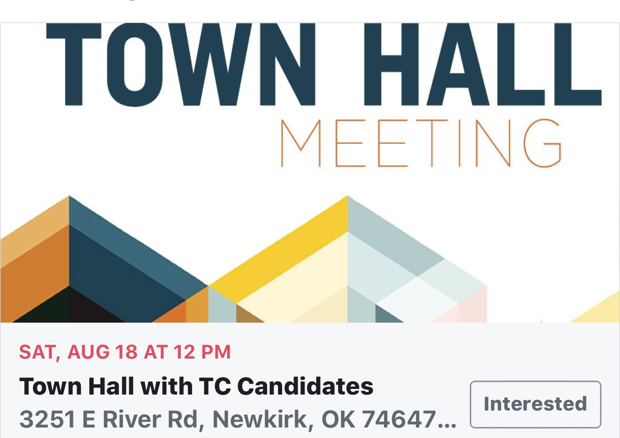 Town Hall With TC Candidates