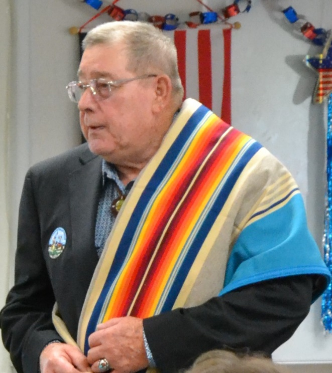 Roy Lee Ball – Vice-Chair of the Kaw Nation