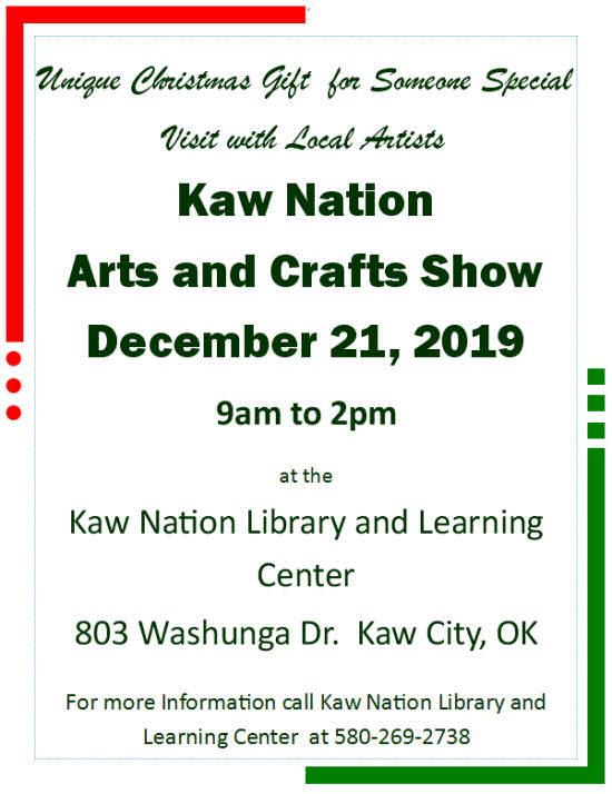 Kaw Nation Arts and Crafts Show